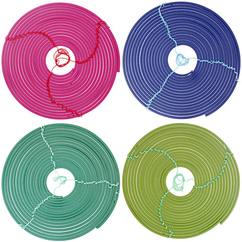 Citronella Spiral Incense - Assorted Colors- Isabella Catalog