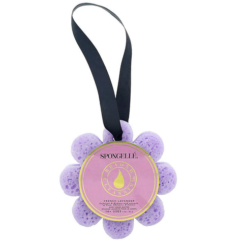 French Lavender Body Wash Sponge- Isabella Catalog