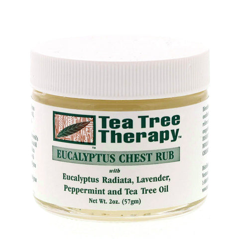 Tea Tree and Eucalyptus Chest Rub- Isabella Catalog