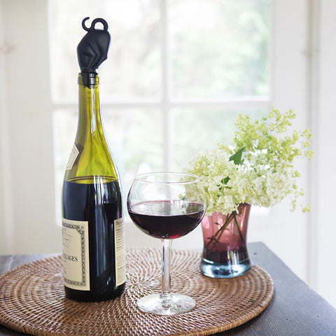 Curious Kitty Wine Stopper- Isabella Catalog
