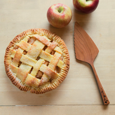 Cherry Wood Pie Server- Isabella Catalog