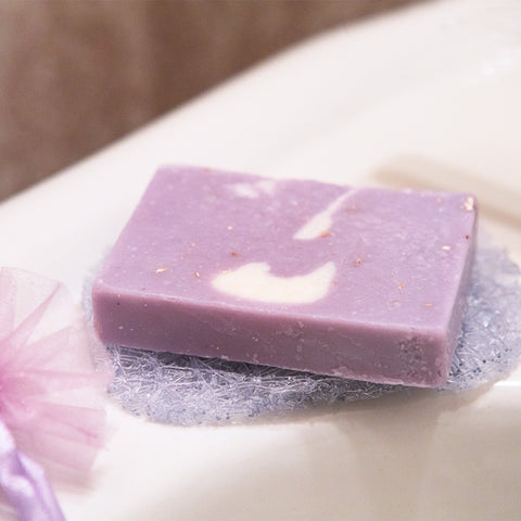 Soap Lift and Handmade Lavender Oatmeal Soap Gift Set- Isabella Catalog