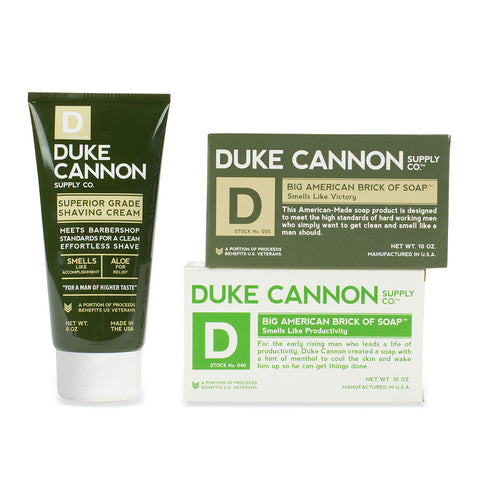 Duke Cannon Tactical Supply: Soap & Shave Cream - Isabella: Gifts with Spirit
