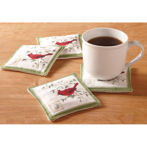 Spiced Mug Mat - Cardinal - Isabella: Gifts with Spirit