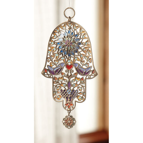 Doves Hamsa - Isabella: Gifts with Spirit