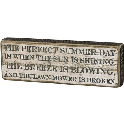 Perfect Summer Day Plaque - Isabella: Gifts with Spirit