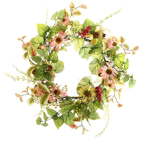 Perennial Wildflower Wreath - Isabella Catalog
