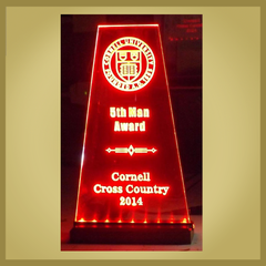 Cornell Cross Country 2014 - 5th Man Award