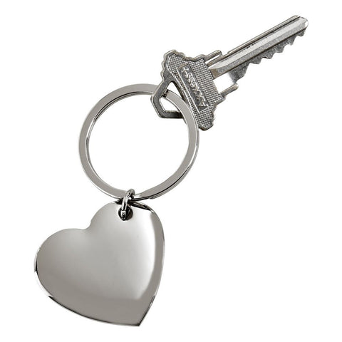 Cupid Heart Key Ring