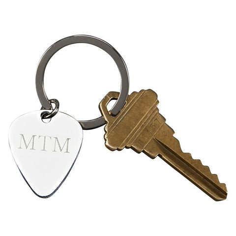 Guitar Pick Key Ring