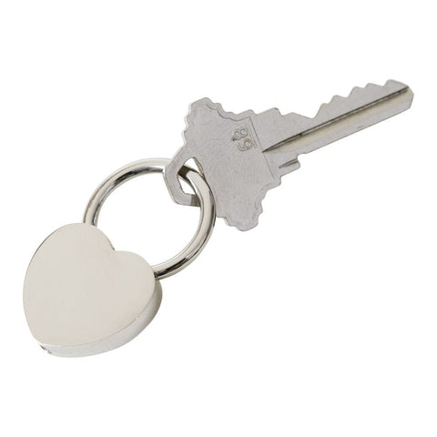 Rectractable Heart Key Ring