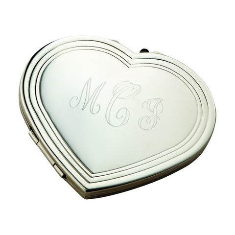 Silhouette Heart Compact