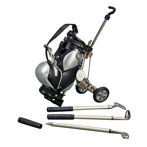 Golf Bag Pen Holder With Pens