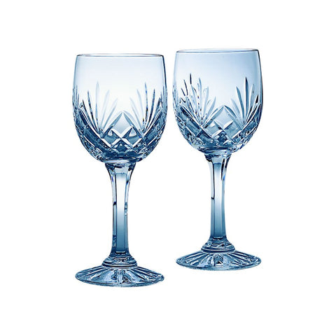 Medallion Wine Goblets