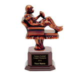 Fantasy Football Champion Rosewood Trophy