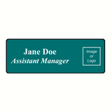 Name Badge Rounded Corners - Colors