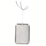 Crystal Rectangle Ornament