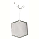 Crystal Hexagon Ornament