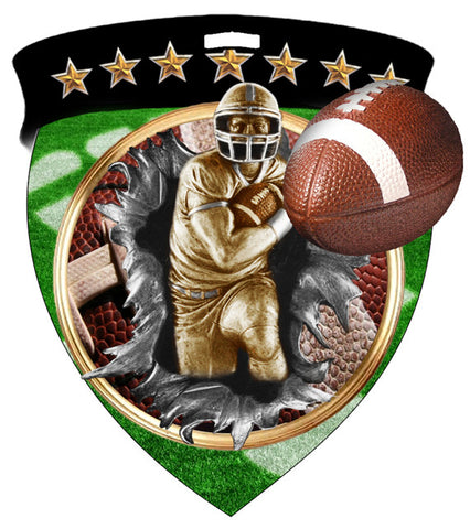 Color Shield Medallion Football