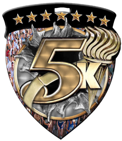 Color Shield Medallion 5K