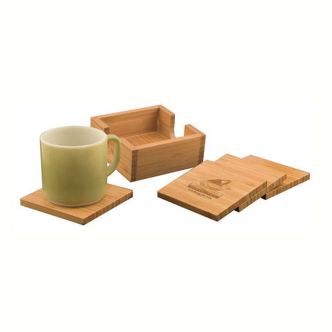 Bamboo Complete Coaster Set