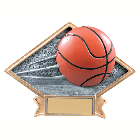 Diamond Plate Series Basketball