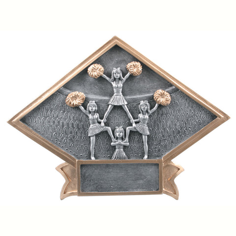 Diamond Plate Series Cheerleader