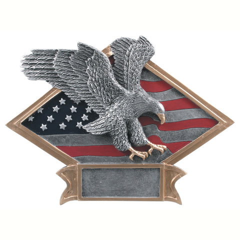 Diamond Plate Series Eagle