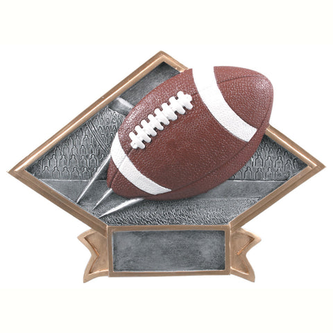 Diamond Plate Series Football