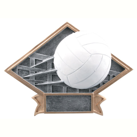 Diamond Plate Series Volleyball