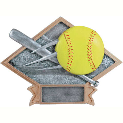 Diamond Plate Series Softball