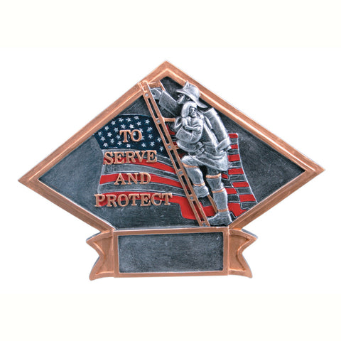Diamond Plate Series Fireman