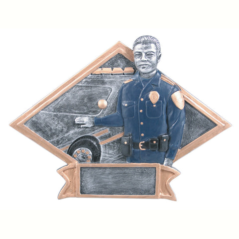 Diamond Plate Series Policeman