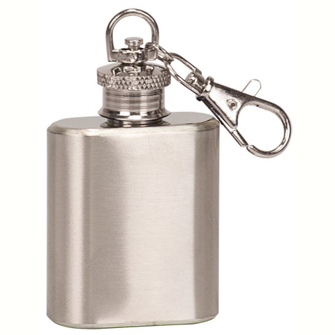 SS Flask Key Ring