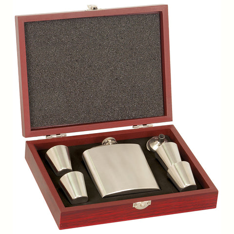 Flask Set In Case