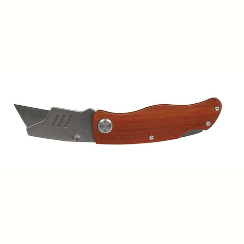 Wood Handle Utility Knife