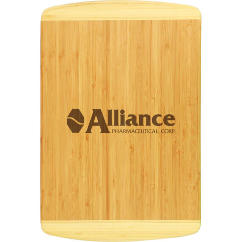 Bamboo Large 2-Tone Cutting Board