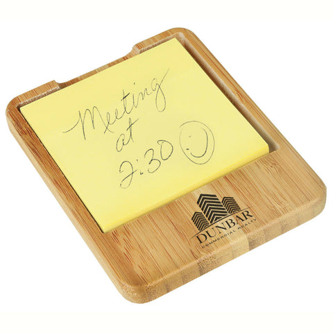 Bamboo Desk Accessory - Sticky Note Holder