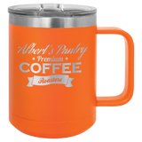 15 oz. Insulated Coffee Mug with Slider Lid