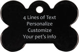 Dog Bone Pet Tag