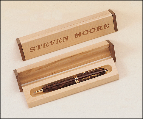 Maple Walnut Pen Set or Accessories