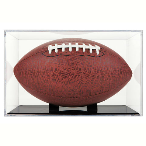 Football Display Case With Holder