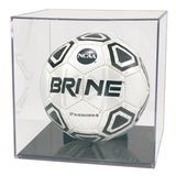 Basketball/Soccer Ball Display Case with Holder