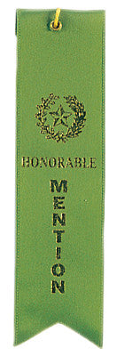 Carded Ribbon Green Honorable Mention