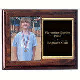 Cherry Plexiglass Picture Plaque 7x9