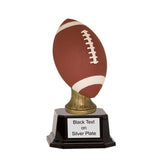 Color Football Resin Trophy