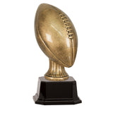 Antique Gold Football Resin Trophy - Small