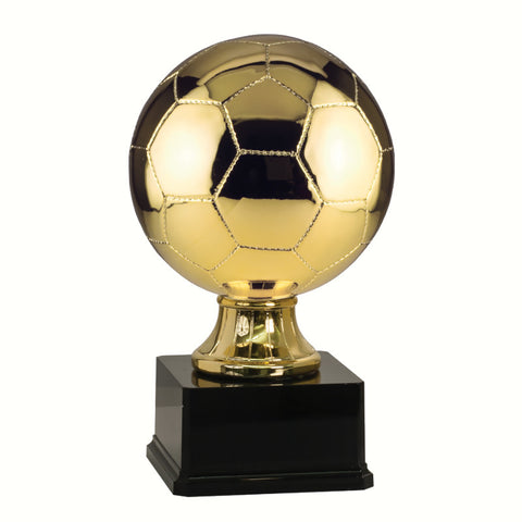 Soccer Ball Resin Trophy