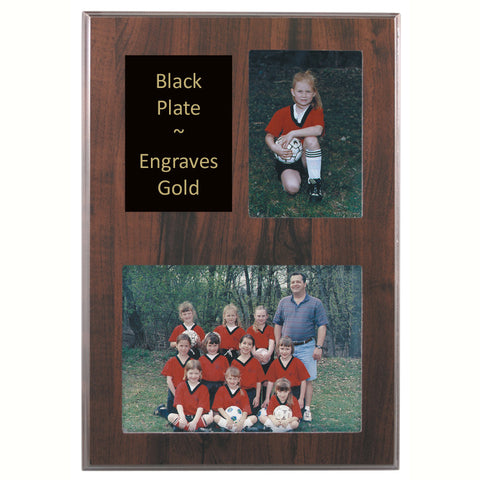 Cherry Dual Slide In Picture Plaque
