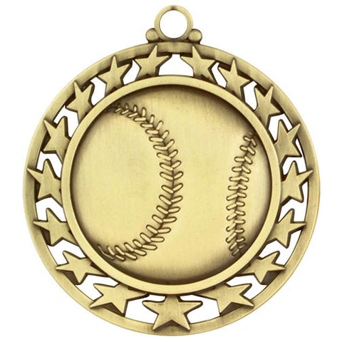 Super Star Medal Baseball
